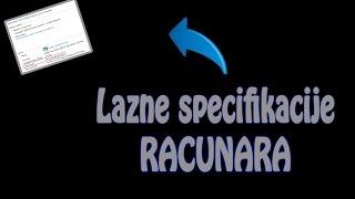 Kako staviti lazne specifikacije racunara (Fake your spaces)