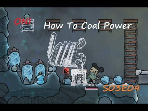How To Coal Power  - Oxygen Not Included Thermal Upgrade S03E09