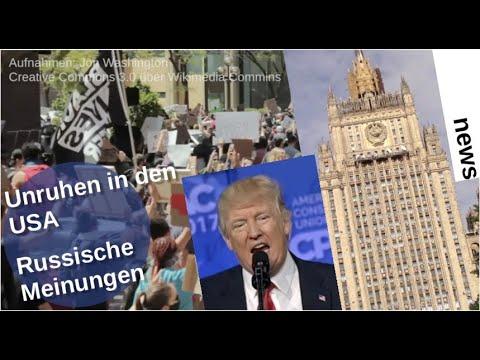 Unruhen in den USA: Russische Meinungen
