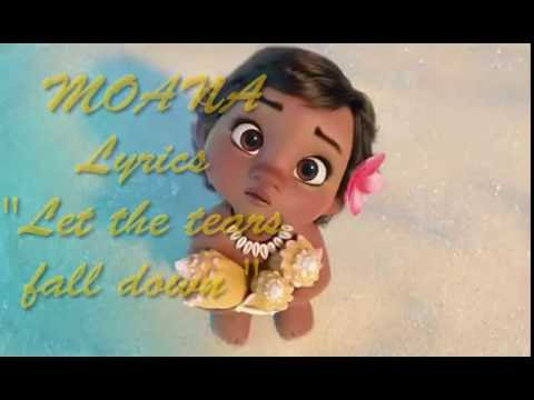 Moana Let the tears fall down LOIMATA E MALIGI Te Vaka Lyrics and Translation ENG