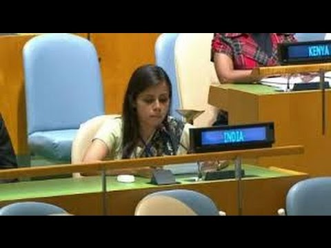 Image result for Meet Eenam Gambhir, India's voice at United Nation