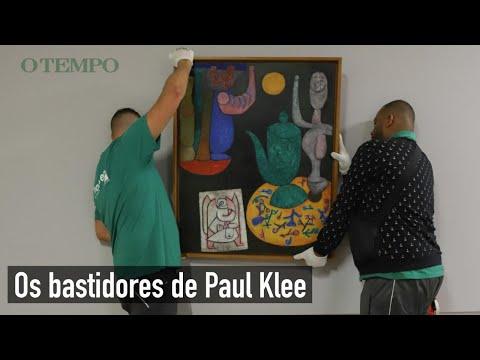 Os Bastidores Da Exposição De Paul Klee