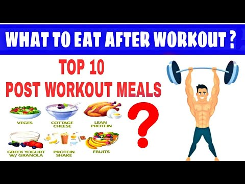 What To Eat After Gym   10 Best Post Workout Food   Post Workout Meal   Post Workout Food