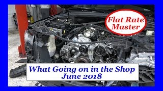 What Going on in the Shop June 2018