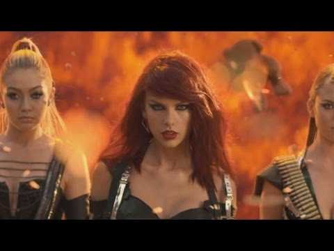 Bad Blood: Behind the Scenes of Taylor Swift's Music Video   Pop News   ABC News