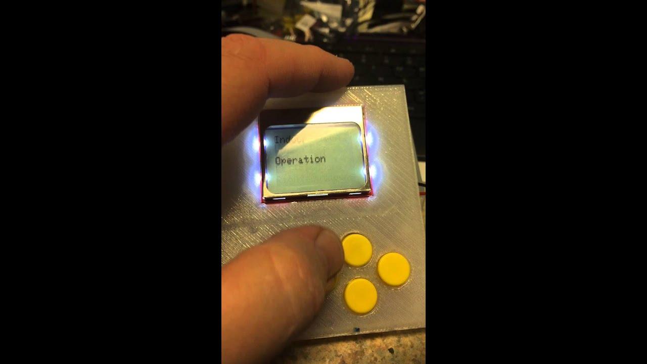 Instructables arduino lightning detector project menu