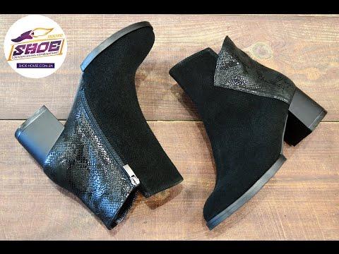 Женские замшевые осенние ботинки ARI ANDANO на байке