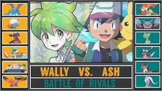 Ash vs. Wally (Pokémon Sun/Moon) - Battle of Rivals