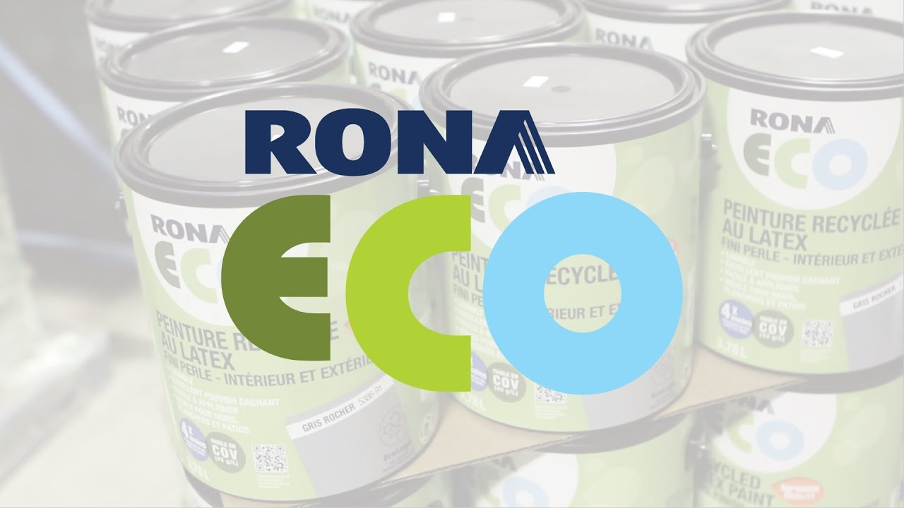 Rona eco paint repainting a sustainable world youtube for Eco paint