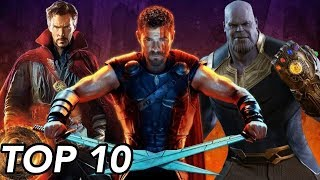 Top 10 Most Powerful Beings in the Marvel Cinematic Universe (Post Infinity War)
