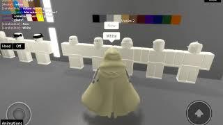 Comment être garde du temple dans ROBLOX Star Wars : Premier Ordre (RP)