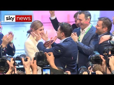 No joke: Ukrainian comedian becomes the country's president