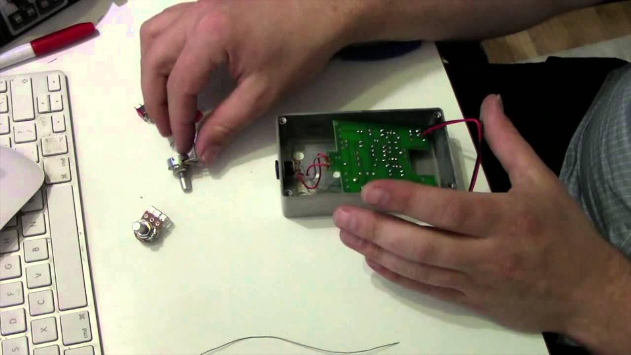 Byoc build fuzz octave pedal diy guitar effects youtube solutioingenieria Choice Image