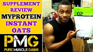 MyProtein Instant Oats Review   Bodybuilding on a Budget!   Unboxing & Supplement Review