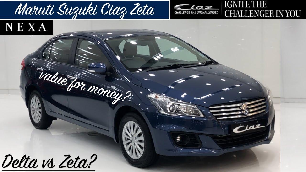 Maruti Ciaz Zeta Model Review Ciaz Zeta Features Interior Exterior