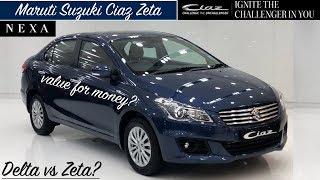 Maruti Ciaz Zeta Model Review | Ciaz Zeta Features,Interior,Exterior | Ciaz 2018