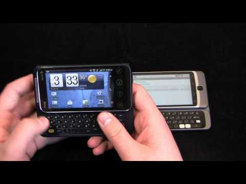HTC EVO Shift 4G vs. T-Mobile G2 Dogfight Part 1