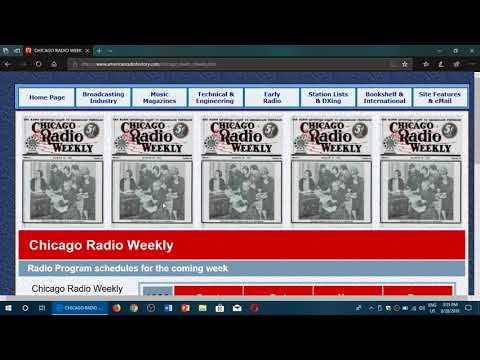 Old Radio And Technical Magazines On The American Radio History Website