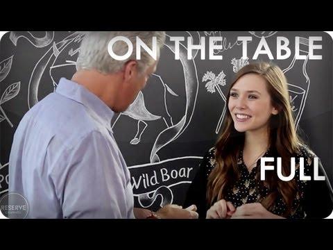 Elizabeth Olsen and Eric Ripert Prepare Wild Boar Ragu | On The Table™ Ep. 8 Full | Reserve Channel