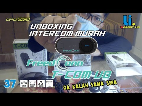 Unboxing Intercom Freedconn T COM VB