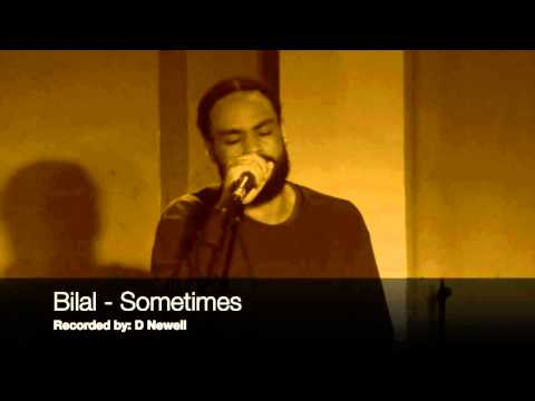 Bilal - Sometimes (live Acoustic) @ The 100 Club, London - 2016