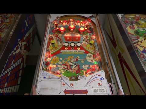 Wild Wheels (Bally, 1966) Flipper Pinball