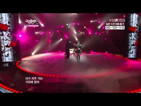 Song Ji Eun Going Crazy [feat. Bang Yong Guk] Live