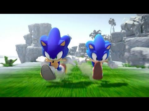 Sonic Generations - Through the Years (PS3, Xbox 360, 3DS)