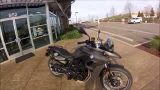 2014 BMW F700GS Low Chassis / Low Seat *For Girls & Boys :)