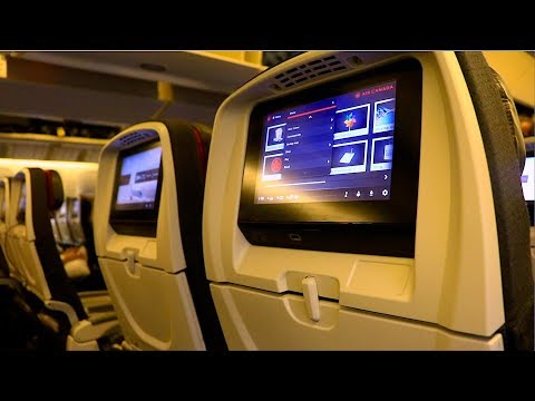 Air Canada Boeing 777-300ER Economy Class Review | Toronto P