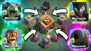 SIRI CHOOSES MY BUILDERS HALL 6 ARMY......AND WINS!! - Clash Of Clans