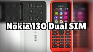 Photos of the Nokia 130 Dual SIM