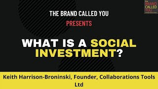 Are Your Social Investments Actually Helping The World? | Keith Harrison Broninski | TBCY