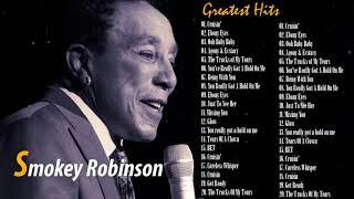 SMOKEY ROBINSON Greatest Hits (Full Album) - The Best Of SMOKEY ROBINSON (HQ)