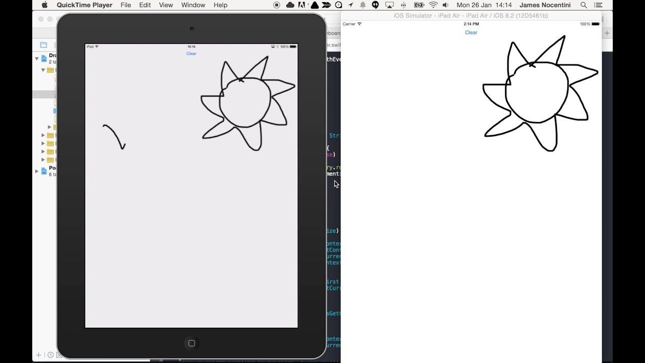iOS: Make a real-time drawing app - James Nocentini - Medium