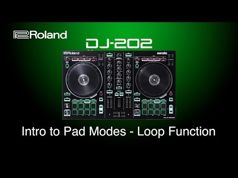 Roland DJ-202 - Intro to Pad Modes - Loop Function