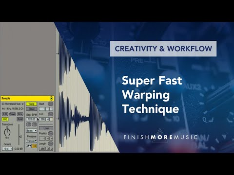 Ableton Warping Tutorial - Super Fast Technique