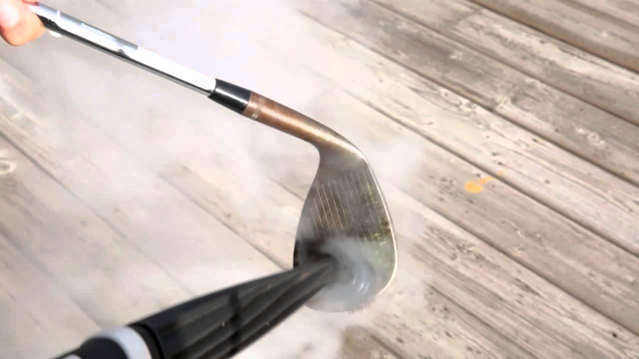 Comment nettoyer des b tons de golf l aide d un nettoyeur vapeur youtube - Comment utiliser un nettoyeur vapeur ...