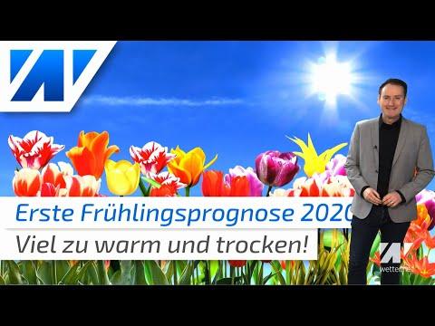 Erschreckende Frühlingsprognose 2020: Extrem Warmer März Und Ein Ziemlich Trockener Mai!