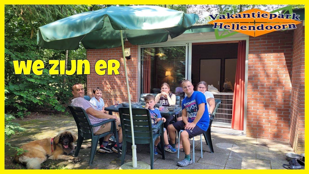 BOSPARK HELLENDOORN DAG 1  Familie Vlog 1129