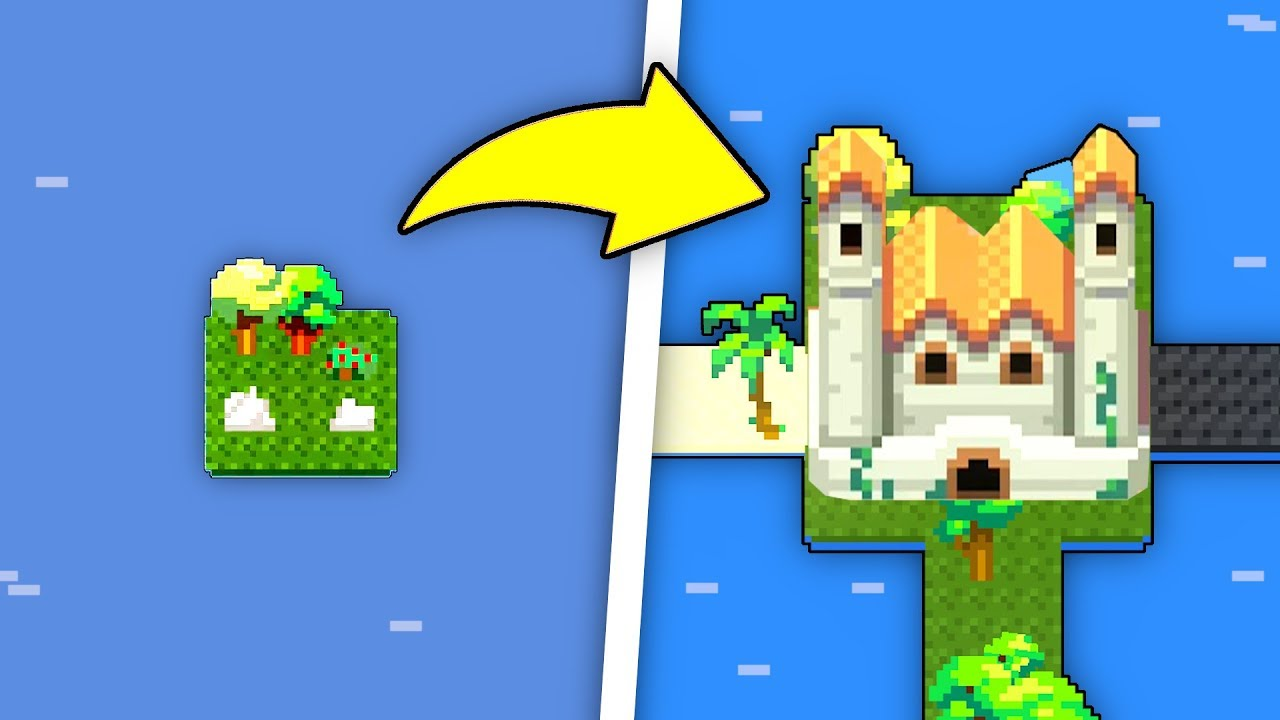 We Used GOD POWERS to Turn the WORST Island Into the BEST KINGDOM in WorldBox God Simulator