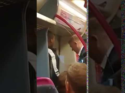 Man Headbutted & Knocked Out On London Train  #London #knockout #headbutt