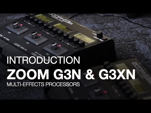Zoom G3Xn Multi-Effects Processor | Zoom