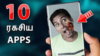 10 ரகசிய Android Apps | 10 Secret Android Apps on Playstore 2019