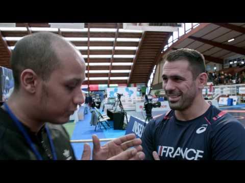 Interview Christophe Guénot - Entraîneur national de lutte gréco-romaine