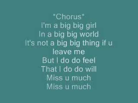 Big Big World(with lyrics)