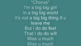 Big Big World(with lyrics)by:Emilia.