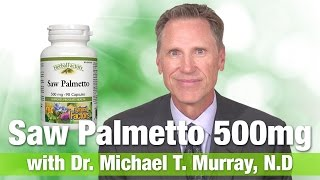 Natural Factors Saw Palmetto Berries 500mg with Dr.  Michael T.  Murray