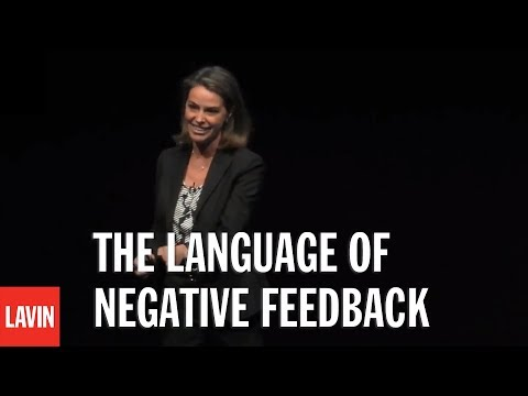 Business Speaker Erin Meyer: The Language of Negative Feedback