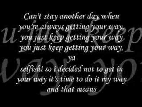 Asia Cruz-Selfish (with Lyrics)